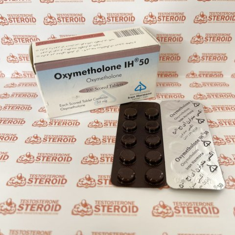 Oxymetholone (Anadrol) 50 mg Iran hormone