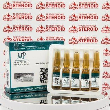 Test C ( Testosterone Cypionate) 250 mg Magnus Pharmaceuticals